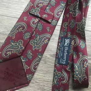 Paisley Print Burberry Men's Necktie